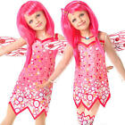 Mia & Me Girls Fancy Dress Mystical Fairy Cartoon Kids Childrens Costume Outfit