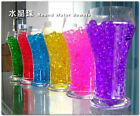 100 Packs Magic Crystal Mud Soil Water Beads For Decoration Free Ship