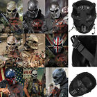 Sport Airsoft Paintball Protection Gear Full Face Skull Mask Cosplay Game 9 type