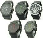 Croton Mens Rubber Sporty ChronoGraph Watch 5 Styles