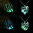 Unisex Retro Necklace Pendant Luminous Glow In The Dark Locket Jewelry Steampunk