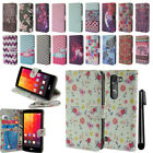 For LG Magna H502G G4c H525N Volt 2 LS751 Wallet LEATHER POUCH Case Cover + Pen