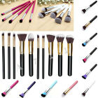 10x Pinsel Bürste Pinselset Schminkpinsel Kosmetik Make Up Brush 10 Farbauswahl
