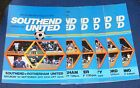 SOUTHEND UNITED HOME PROGRAMMES 1979-1980