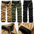 Stylish Mens Combat Fleece Lined Cargo Pants Work Trousers Winter Casual Pants