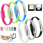 Micro USB To USB Cable Bracelet Charger Data Sync Cord Wristband Charging