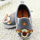 Baby Boy Infant Cute Tigger Canvas Summer Casual Shoes Pre Walkers