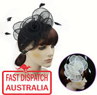 Melbourne Cup Spring Races Racing Carnival Headband Clip Hatinator Fascinator