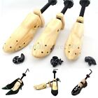 2-Way Adjustable Women's Men's Wooden Shoes Shaper Tree Stretcher US Sizes 5-12