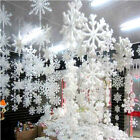 Wall Window Decor Christmas Tree 3D Foam Snowflake Hanging Decorations 16cm