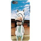 Superb Stunning Stallion White Horses Hard Case For Apple iPod Touch 6th Gen