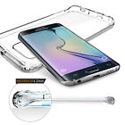 Slim Transparent Crystal Clear TPU Case Cover For Samsung Galaxy S8/S7/S6/Edge/+