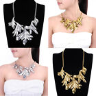 Fashion Hot Women Fashion  Jewelry Leaf Vintage Chain Collar necklace Beauty