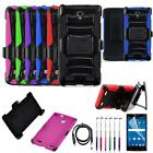 Phone Case Straight Talk ZTE ZMAX 2 LTE Holster Cover USB Charger Film Stylus
