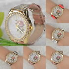 2015 Chinese Favored Style Peony Pattern Watch Gilt Digital Quartz Casual