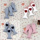 Handmade Chic Small Hanging Tropical Fish Heart Hanger Chirstams Decoration Gift