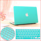 """2in1 Turquoise Rubberized Hard Case Cover Cut-out for MacBook Pro 13"""" Air 11/13"""""""