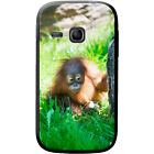 Orangutan Monkey Primates Animal Hard Case For Samsung Galaxy Young (S6310)