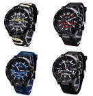 Fashion 4 Styles Camouflage Sports Casual Watch Women's Men's Wrist Watch