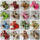 Hessian Faux Burlap/Hessian/Jute Wired Ribbon 38mm Rustic Christmas Bow Making