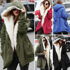 New Women's Winter Outdoor Warm Coats Overcoat Fashion Chic Hooded Cotton Jacket