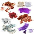 100pcs Organza Drawstring Jewelry Wedding Favor Gift Bag Pouch HOT