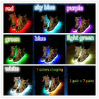 Women LED Casual shoes camouflage sports light luminous lace up platform sneaker