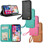 Leather Flip Cover Credit Card Wallet Case for For Apple iPhone 6 / 6S Plus