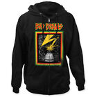 Bad Brains - Lightning Capitol Building Graphic Zip-Up Hoodie - BRAND NEW