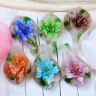 1PC Vintage Beauty Flower Lampwork Glass Pendant Bead Murano For SP Necklace BP