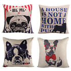 New Vintage Cotton Linen Pillow Case Sofa Throw Cushion Cover Home Decor AS