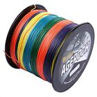Agepoch 100M-2000M 6-300LB Test Multi-Color Dyneema Braided Fishing Line