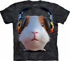 THE MOUNTAIN DJ Guinea Pig Kids/Boys/Childrens/Girl T-shirt/Top headphones/music