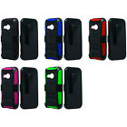 3-Layer Holster Stand Cover Carry Case HTC Verizon HTC6515LVW One Remix Mini 2