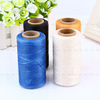 260 Meter 1mm 150D Leathercraft Waxed Wax Thread Cord for DIY Hand Stitching New