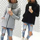 Fashion Winter Warm Women Zipper Casual Coat Jacket Outwear Pullover Sweats New