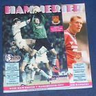 WEST HAM UNITED HOME PROGRAMMES 1994-1995