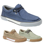 GBX Men's Moc Toe Wallabee Oxford Canvas Shoes