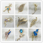 Lot Brand New Fashion Elegant Charm Shiny Crystal Brooch Pin Charm Party Jewelry