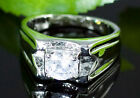 Men Bling 1.5 Carat Cubic Zirconias Stone Hip Hop Ring MR127