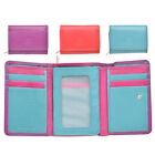 Lambland Womens / Ladies High Quality Leather Compact Purse in Multi Colours