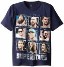 % WWE Superstars John Cena Big Show Randy Orton Youth Boy's T-Shirt - Navy