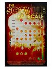 Gloss Black Framed The Scoville Heat Scale Maxi Poster 61x91.5cm