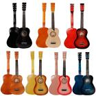 "8 Colors 25"" Beginners Kids Acoustic Guitar 6 String w/ Pick"