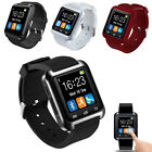 Smart U8 Bluetooth Wrist Watch Phone Mate Sport For iPhone Android IOS Samsung