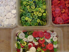 25/50/100 PLAIN BRIGHT MIX COLOURED 11MM RESIN BUTTONS#CRAFTS/CARD MAKING