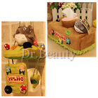 New Cute My Neighbor Totoro Plush Doll Home Tissue Box Cover Holder Toilet Paper