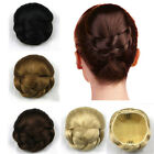 Fashion Straight Hair Bun Chic Lady Short Hairpiece Daily Wear Cosplay Party