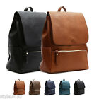 NEW Womens Ladies Backpack Satchel Book Bags Casual School Bag Faux Leather