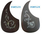 Acoustic guitar pickguard Rosewood,MOP inlaid,Left hand/side 1 piece